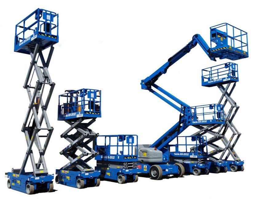 genie strojevi za rad na visini