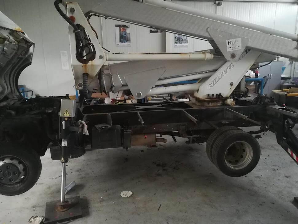 kamionska košara multitel